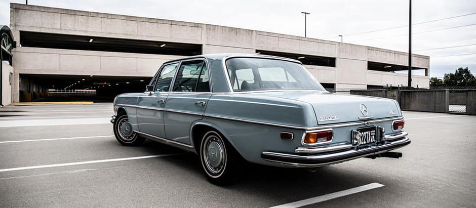Old Baby Blue: 1972 280SE 4.5