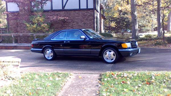 Big Money: 10k Miles and One Owner 1991 560SEC