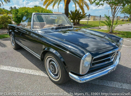Option Code 417: 1967 250SL California Coupe
