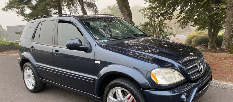 Great value on a 2001 ML55 AMG