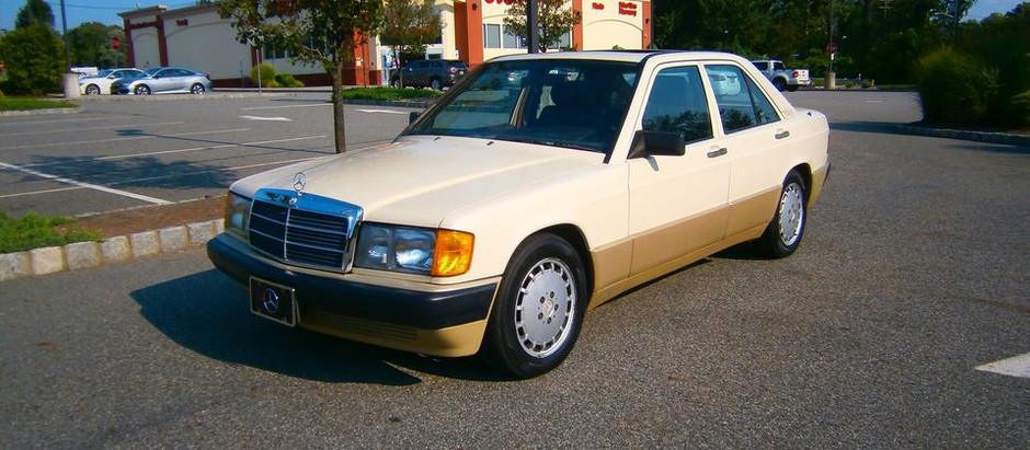 Fifty Shades of Brown: 1989 Mercedes 190E 2.6