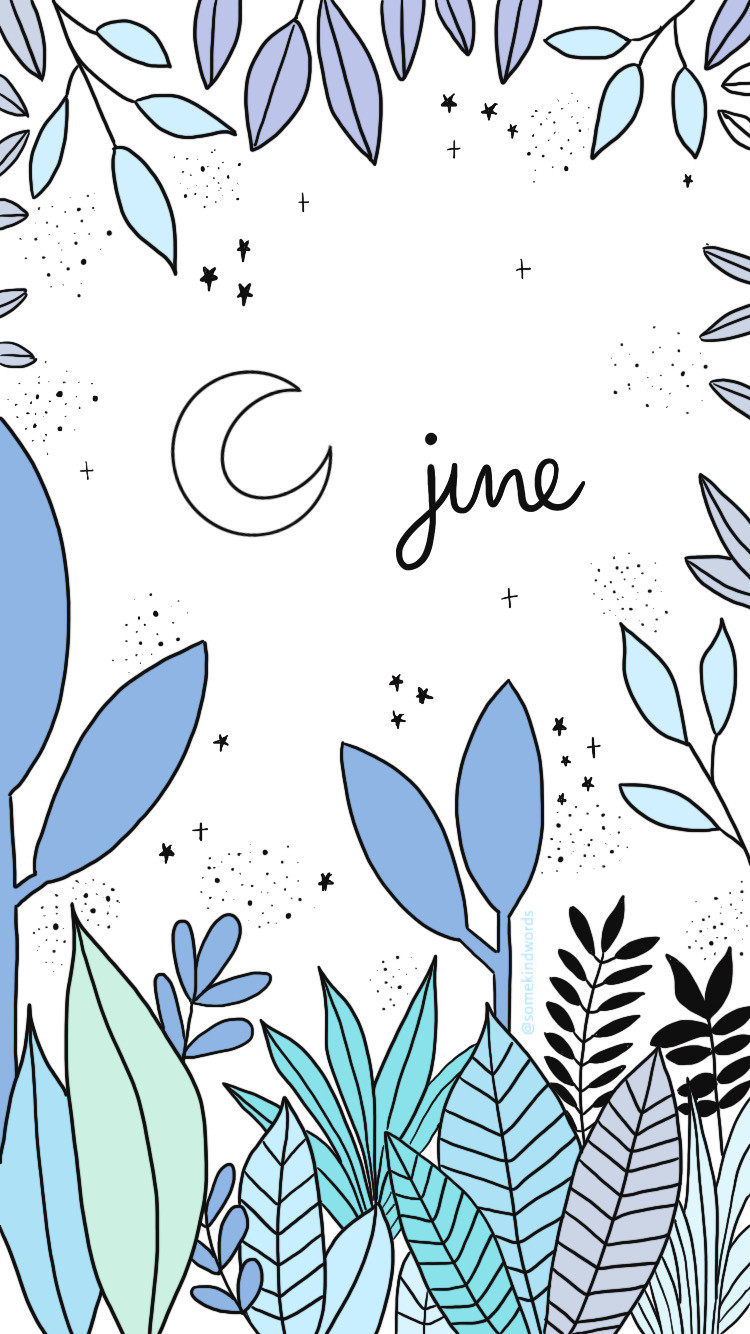 dreamy, dream, magic, cozy, cosy, Wallpaper, free wallpaper, kostenlos, hintergrundbild, hintergrund handy, iphone, tablet, handy, mobile, august, wallpaper, freebie, sommer nacht, aesthetic, wasserfarben, journaling, bullet journal, mond, dschungel, jungle, blau, hellblau, somekindwords, journal, digital art, art, drawing, zeichnung, doodles, plant, pflanzen, sterne, june, juni, kalender, gestalten,