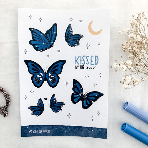 blue butterflies 3 @somekindwords.jpg