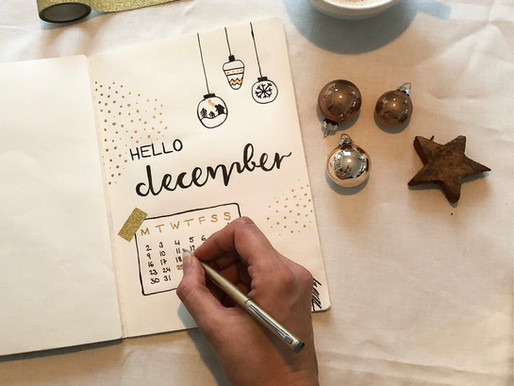 40+ winter theme ideas for your bullet journal