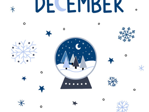 """December Freebies: 2 Wallpapers """"moon"""" and """"snow globe"""""""