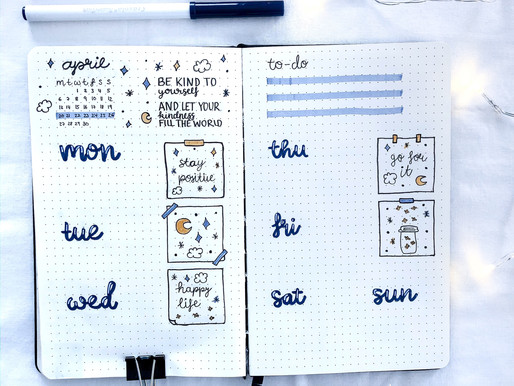 10 Weekly Spread Ideas for your Bullet Journal