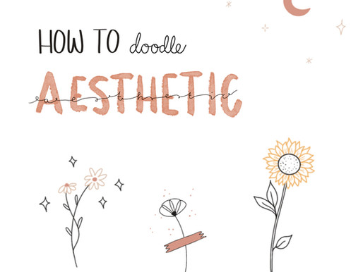 Tutorial: How to sketch aesthetic doodles