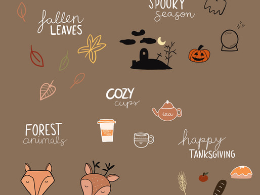 5 autumnal themes for your Bullet Journal - Let's get cozy! + tips for more inspiration in autumn