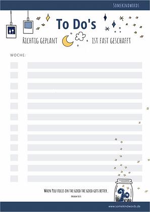 To-Do Liste zum ausdrucken, to do liste, aufgaben, planen, wochenplan, wochenübersicht, Planung, Organisation, Alltag, zuhause, aufgaben aufschreiben, pdf, vorlage, template,