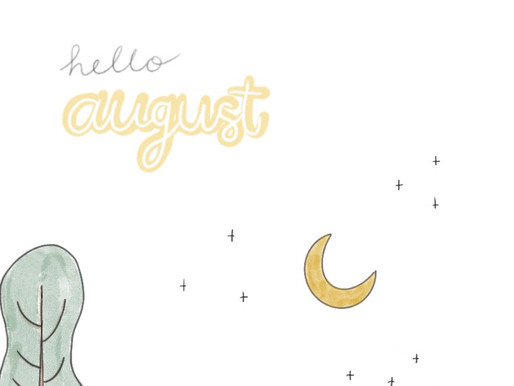 Freebie: August Wallpapers for you