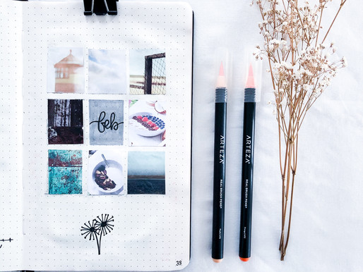 Visualize your Bullet Journal - Create a moodboard in 3 steps