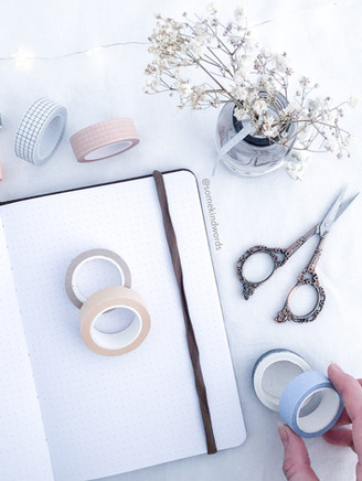15 ways to use washi tape in your Bullet Journal