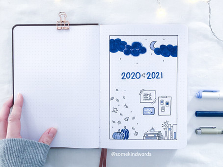 My Bullet Journal set up idea for 2021