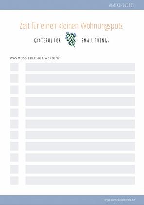Wohnungsputz, putzplan, pdf, vorlage, template, kostenlos, paare, wg, template, zum ausdrucken, free, printable, liste, planung, organisation, Ordnung, aufräumen, Wohnung, sauber machen, cleaning