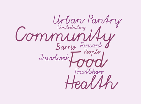 Why I got involved with Urban Pantry