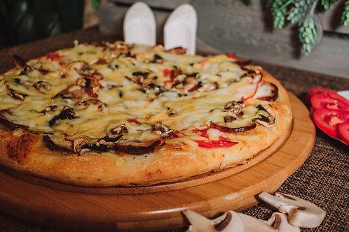 """Пицца """"С домашними колбасками"""""""