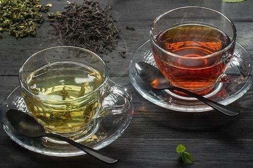 """Чай """"Зеленый"""", """"Черный"""""""