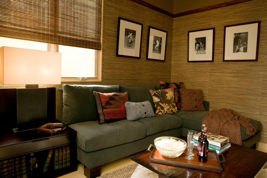 Asian Contemporary Barel home