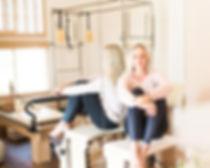 Studio Blu Inc, Westchester CA. interior designer, Westchester CA. Pilates Studio, White fresh interiors,Mamai Wellness