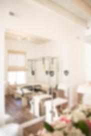 Studio Blu Inc, Westchester CA. interior designer, Westchester CA. Pilates Studio, White fresh interiors, Mamai Wellness
