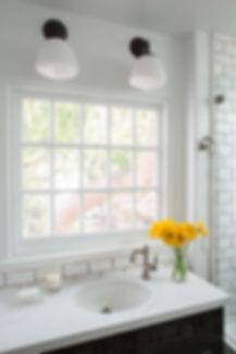 Studio blu inc, quartz stone, kohler sink, handmade tile