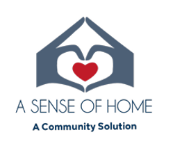 A Sense of Home, A Community Solution Logo