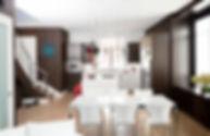 Studio blu inc, white dining table, white dining chairs, B&B Italia, Playa Vista Interior designer