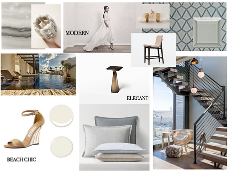 Studio Blu Inc, Interior design mood board, modern beach mood board, Client inspiration, Manhattan beach interior designer, Malibu interior designer