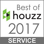 Studio Blu nominated for best of Houzz 2017 service