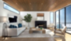 Studio Blu Inc, Interior design 3D, modern beach mood board, Client inspiration, Manhattan beach interior designer, Malibu interior designer, wood ceiling, Modern beach