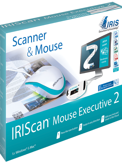 IRIScan mouse executive 2 - souris scanner