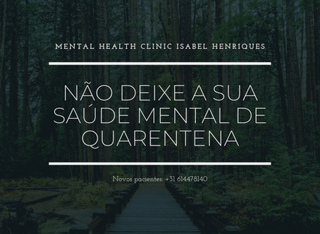 Clínica de Psicologia em Portugal e Holanda