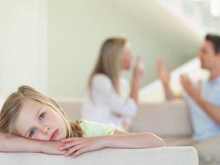 O divórcio – que fazer para que os filhos sofram o menos possível?