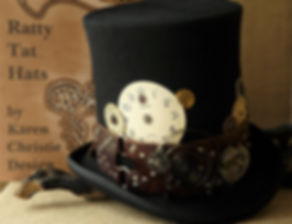 The Clockmaker by Ratty Tat Hats