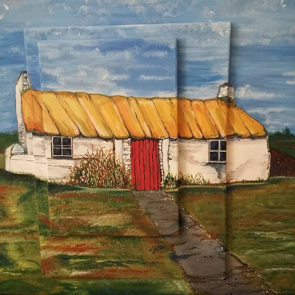 An Irish Cottage by Lyn E F Waddell