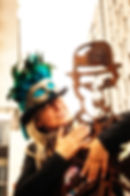 Karen Christie, Milliner, Ratty Tat Hats Steampunk and Vintage Style Creations