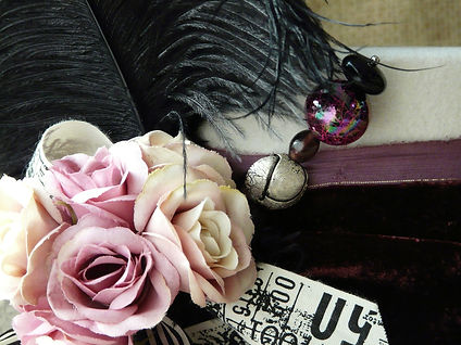 Handmade Vintage Hat for Ladies Day