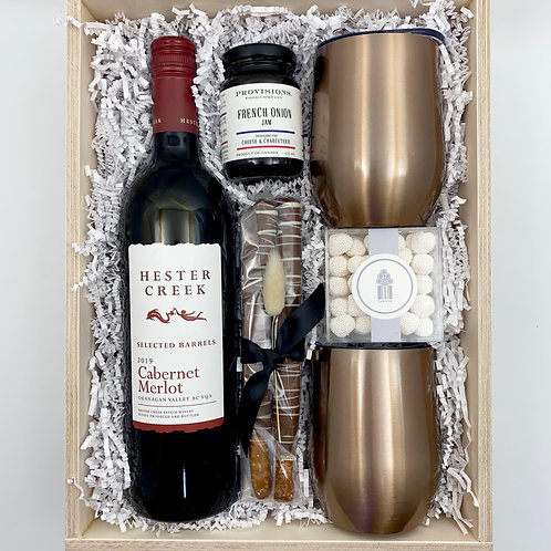 Client Thank You Wine Box