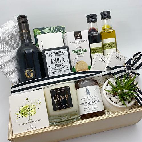 Deluxe Housewarming open Wine Box