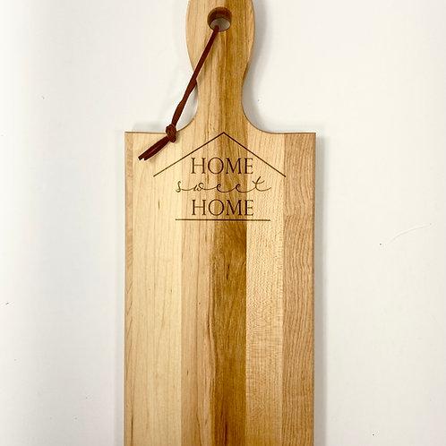 """""""Home Sweet Home"""" Cutting Board"""