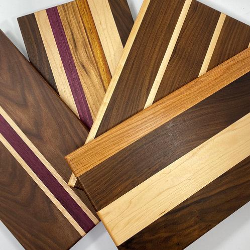 Mixed Hardwood Charcuterie Board