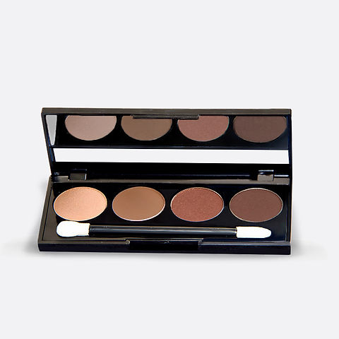 Pressed Mineral Eye Shadow Quad Compact.