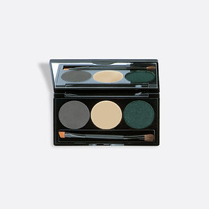 Pressed Mineral Eye Shadow Trio Compact.