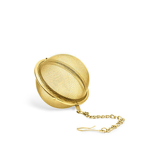 Small Gold Tea Infuser Ball