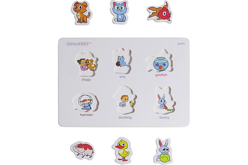 GeniusKIDDY Support Board 1 – Toy for early childhood education