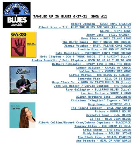 Playlist 6-27-21