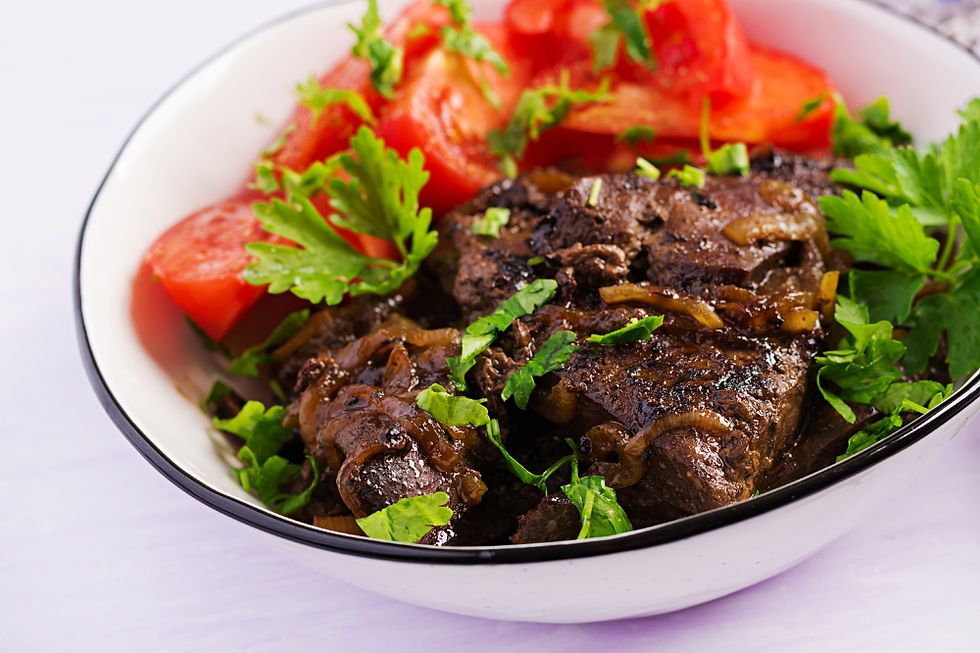 roasted-grilled-beef-liver-with-onion-to