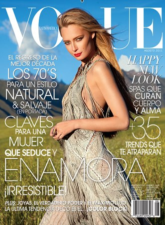 cover Latin American Vogue