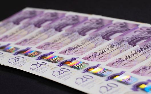English banknote