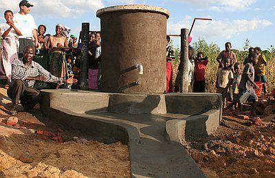 Waterputten in Malawi